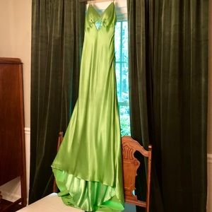 Dresses & Skirts - Gorgeous, one of a kind Green Formal Gown